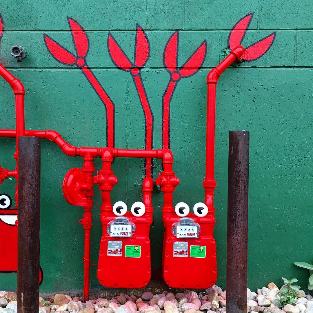 Amusing Street Art by Tom Bob