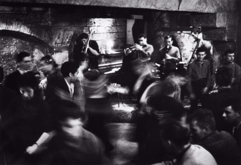 1956. Джаз клуб «Погребок» на улице Юшет