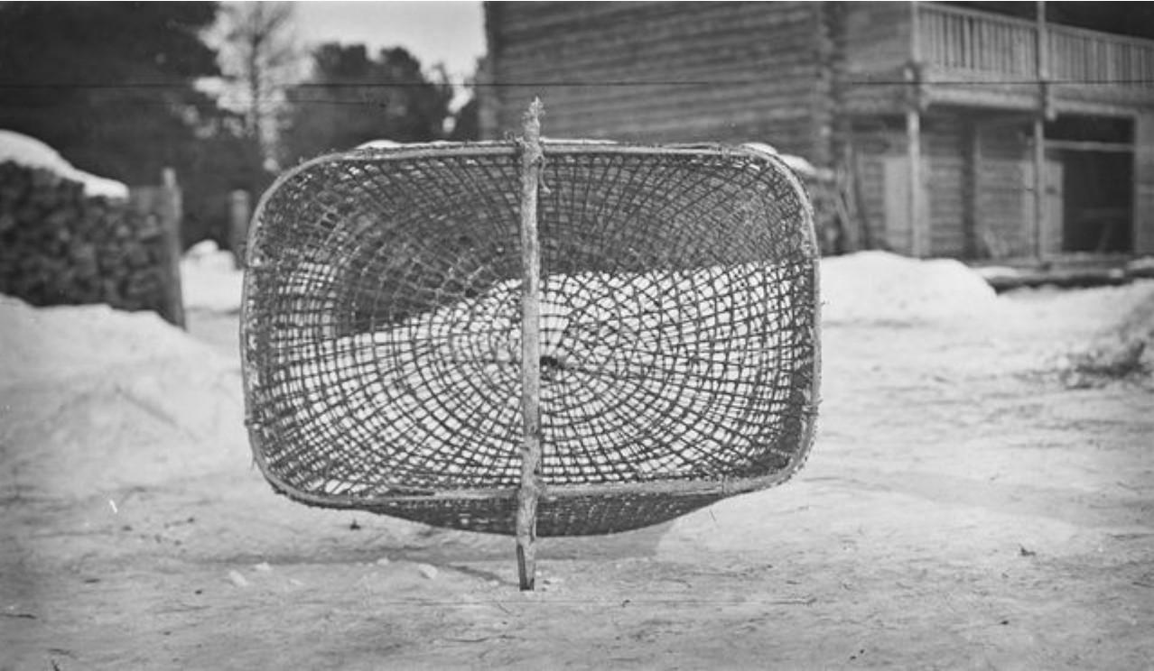 38. Село Ларятское. Приспособление для рыбной ловли
