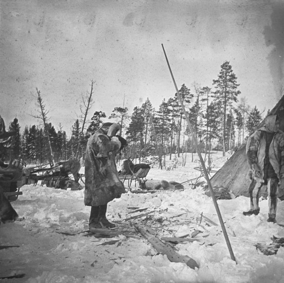 85. Лагерь экспедиции