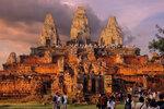 Встретить закат на храме Пре Руп
