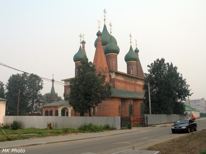 Церковь Богоматери Тихвинской