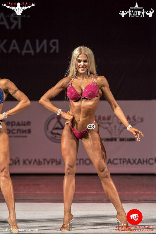 Кубок «Столица Каспия» по бодибилдингу 2017: Фитнес-бикини +166 см