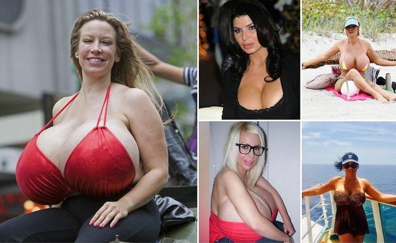 Знаменитые обладательницы огромного бюста