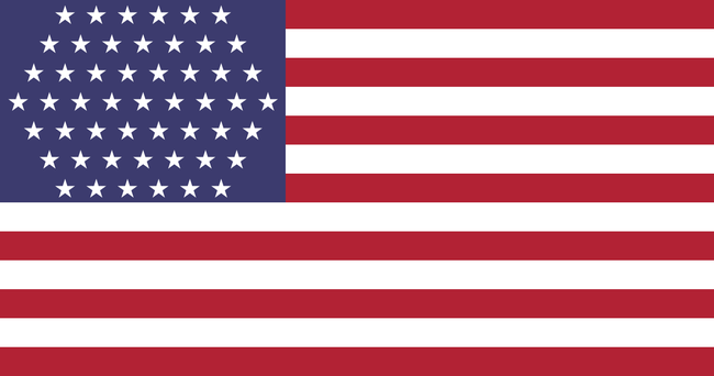 Как может выглядеть флаг США, когда там появится 51-й штат