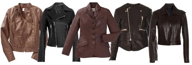 Виды кожаных курток