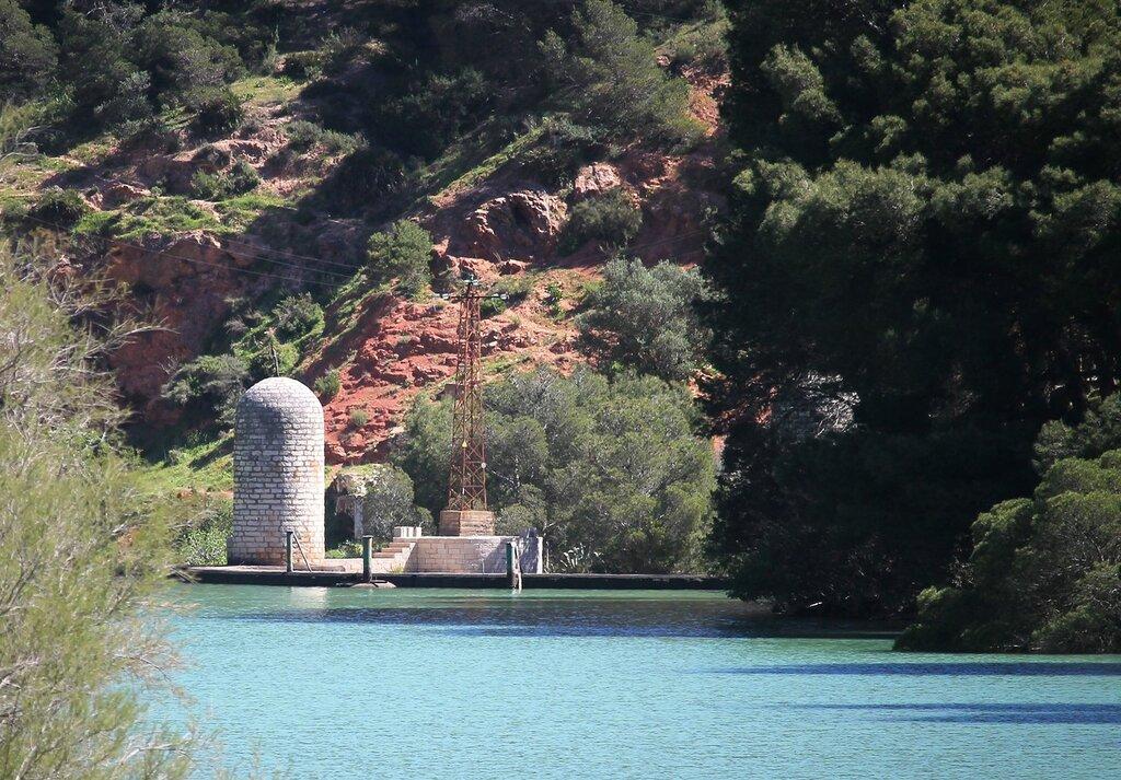 El Chorro. Gaitanejo reservoir (Embalse de Gaitanejo)