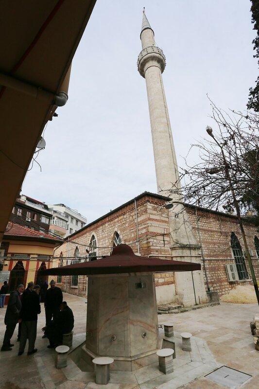 Istanbul. The Mosque Of Sheikh Debate (Şeyh Devati Camii)