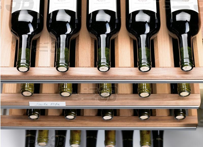 Отрегулируйте температуру перед тем, как подавать на стол. Различные вина лучше на вкус при чуть раз