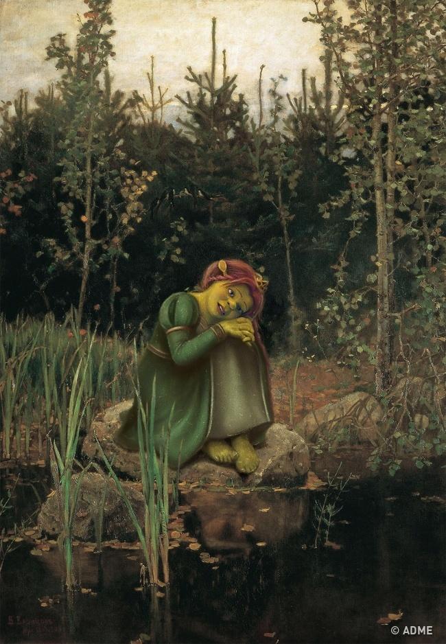 10знаменитых картин глазами современных художников