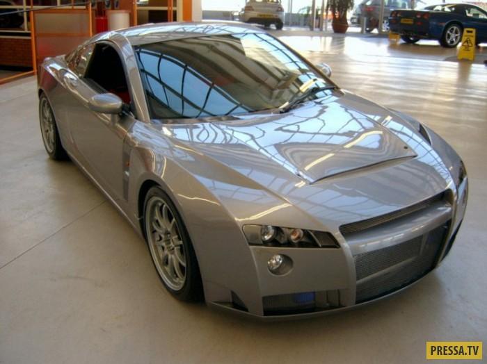 Blast Automotive Еще один нелепый автомобиль, сочетающий в себе несочетающиеся линии и дизайнерские
