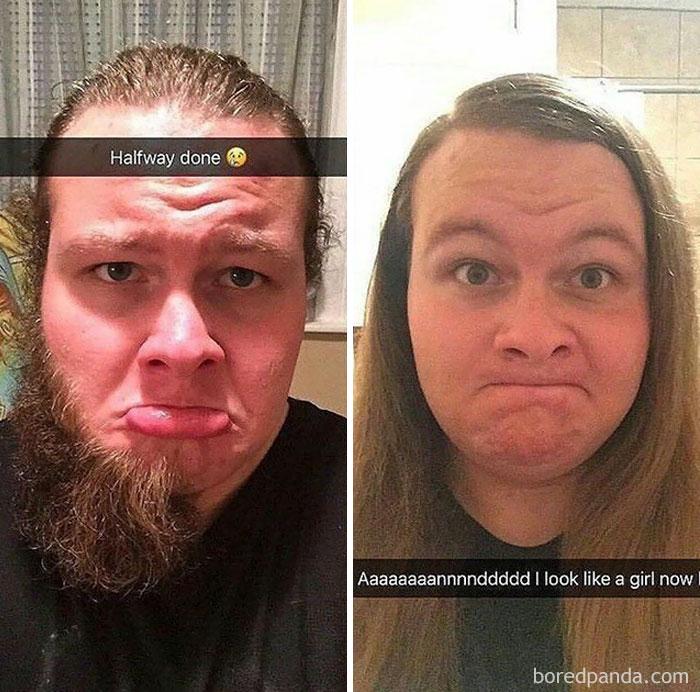 «Жена говорила: побрей бороду, помолодеешь. Теперь я выгляжу как девочка!»