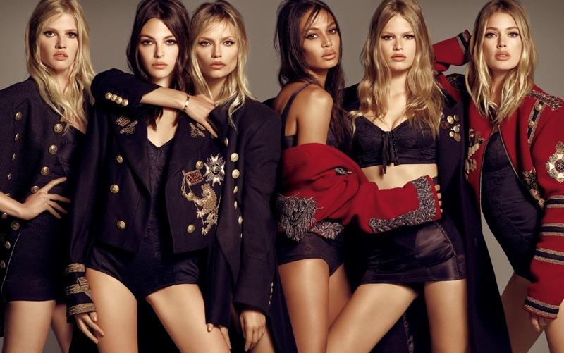 Модели в фотосессии для Vogue Japan (15 фото)