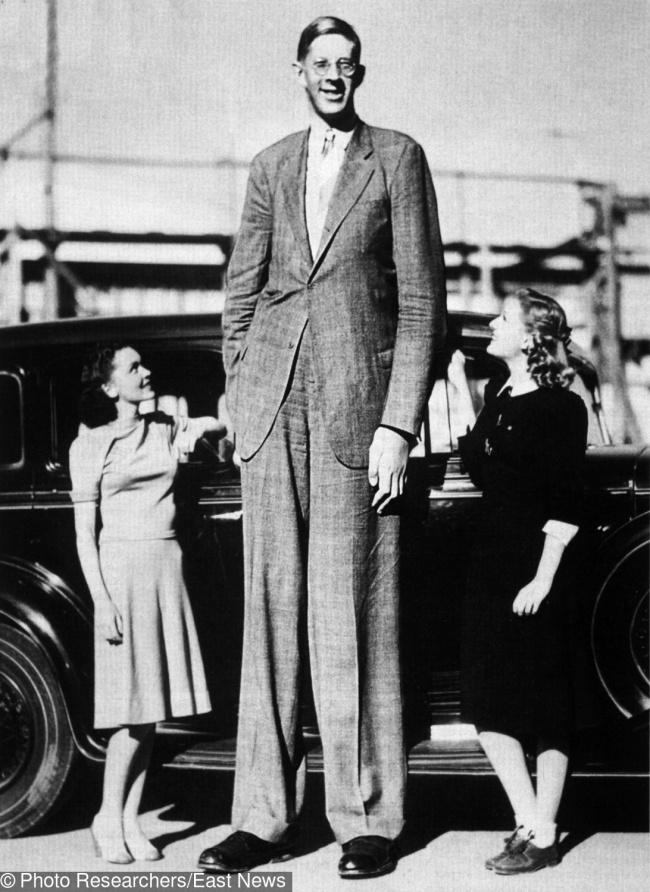 © EAST NEWS  «Добрый великан» Роберт Першинг Уодлоу насегодняшний день остается самым высоким