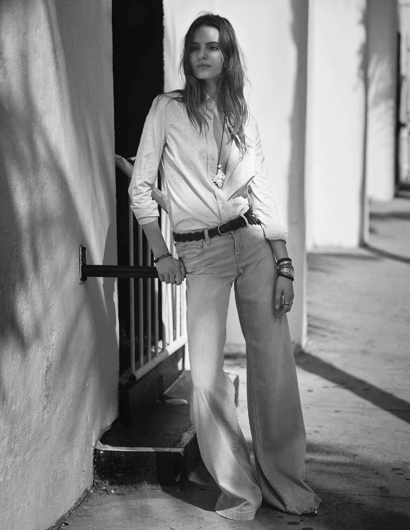 Тильда Линдстэм во французском ELLE