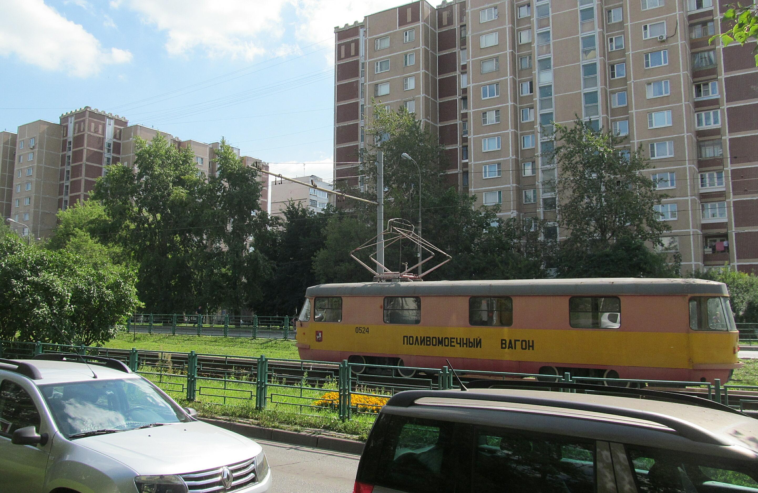 полностью трамвай