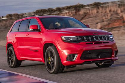 Jeep покажет вНью-Йорке самый мощнейший вседорожный автомобиль Grand Cherokee Trackhawk