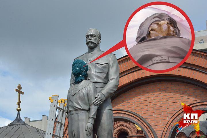 20170801_18-55-Вандалом, повредившим памятник Николаю II в Новосибирске, оказался бывший следователь-pic1