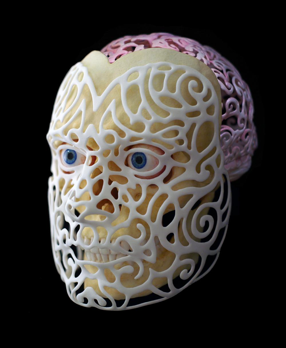 Anatomical 3D Self-Portrait by Joshua Harker