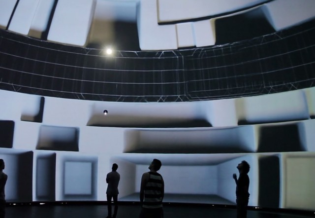 360 Degrees Video Immersive Installation