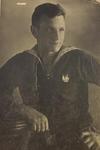 Рулевой-сигнальщик С-7 краснофлотец А.К. Оленин, сентябрь 1942г.