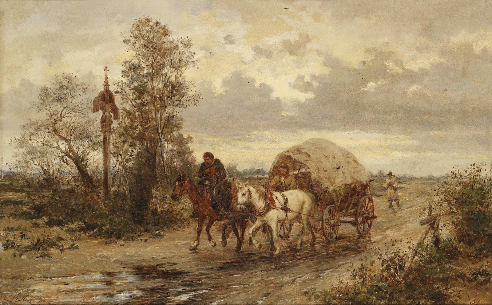 1 Ludwig_Gedlek_Auf_der_Landstraße  On the country road.jpg