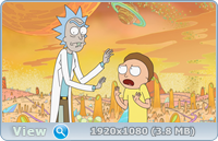 Рик и Морти (1-3 сезон: 1-31 серии из 31) / Rick and Morty (2013-2017/BDRip/HDRip)