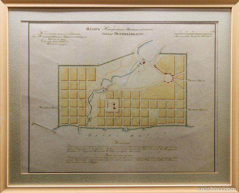 План города Петрозаводск, 1778 год