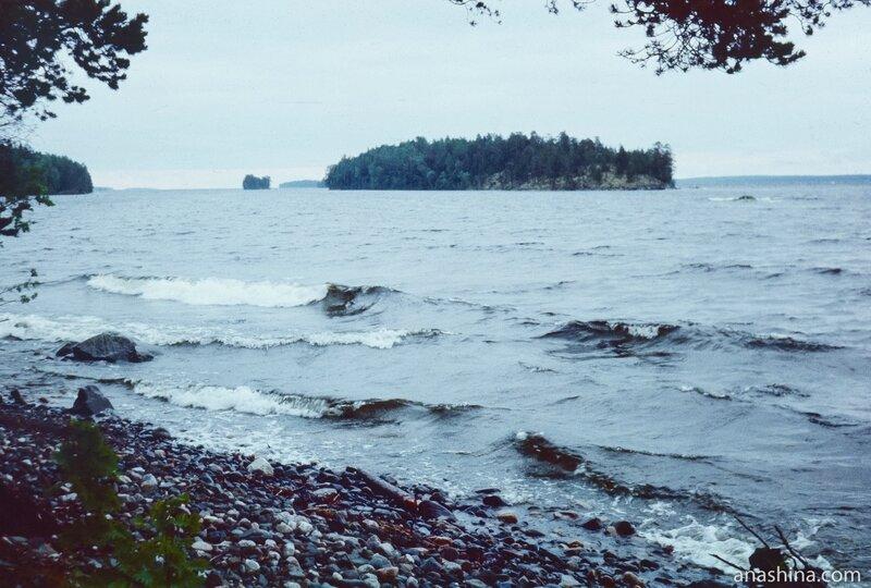 Волнение, Онежское озеро