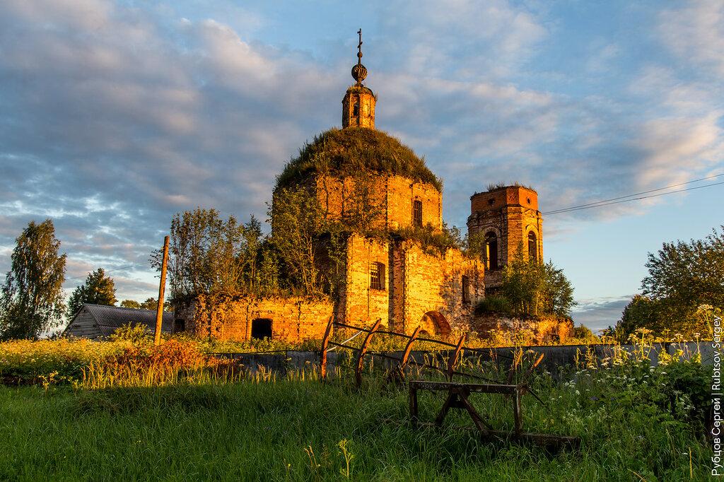 Владимирская церковь в Зубово