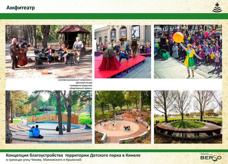 Кинель. Детский парк
