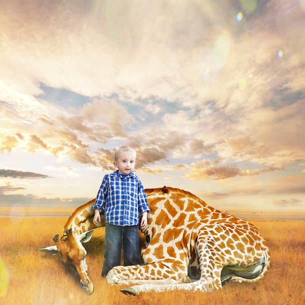 Un artiste transporte des enfants malades dans un univers onirique grace a leurs propres dessins…