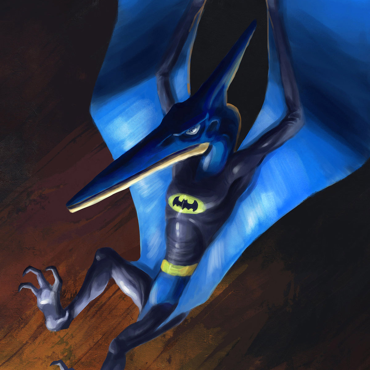 Dinosaur Heroes & Villains: Illustrations by Kolby Larsen