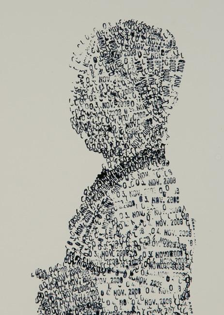 Date Stamp Art - Federico Pietrella