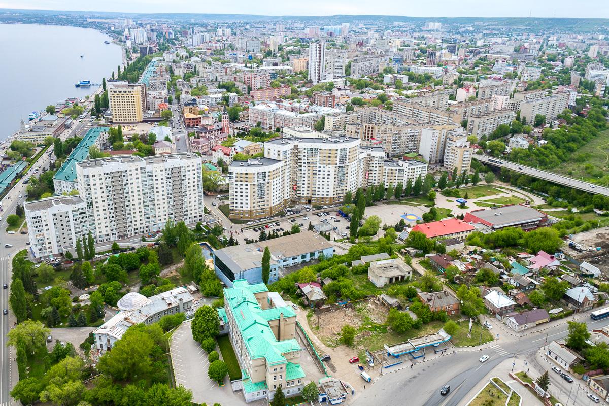 Вид на Саратов с Volga Sky фото 4