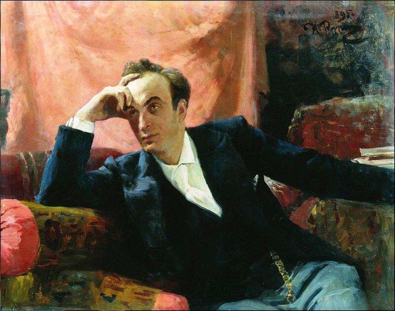 Портрет артиста Г.Г.Ге. 1895. Русский художник Илья Ефимович Репин.jpg