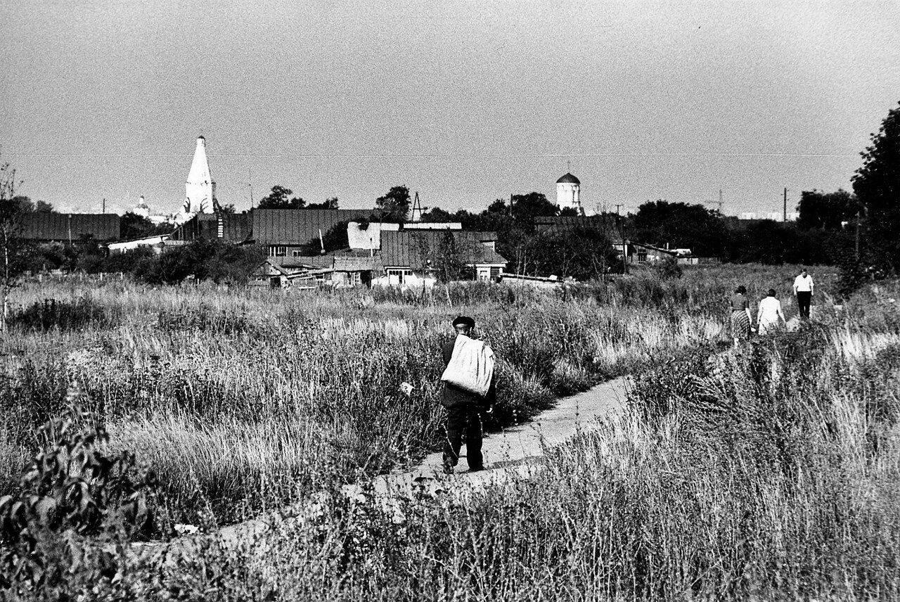 Дорога в Коломенское. 1977 год.jpg