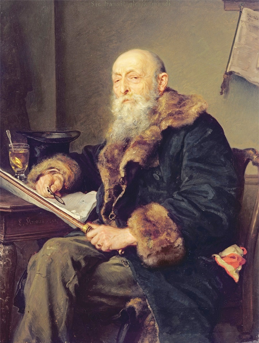 The Starost, 1887 (oil on panel)