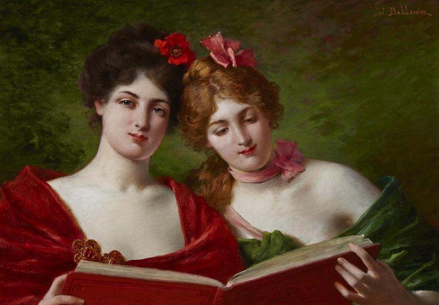 ELEGANT LADIES READING