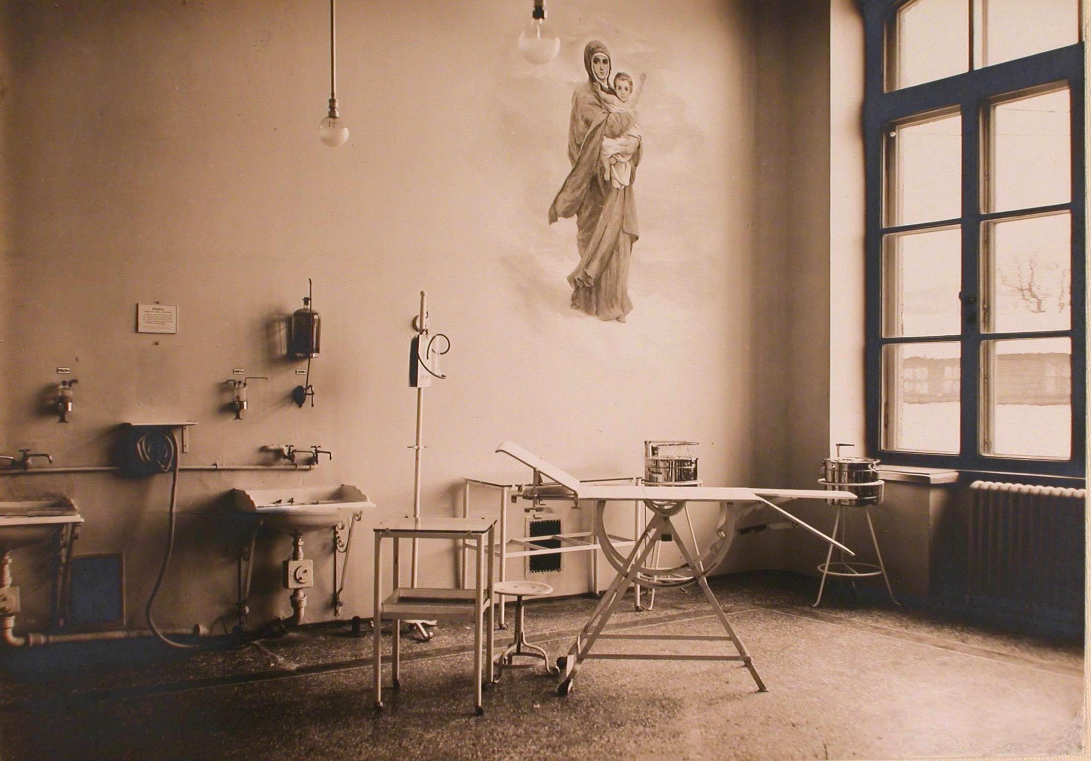 03. Общий вид операционной госпиталя №1