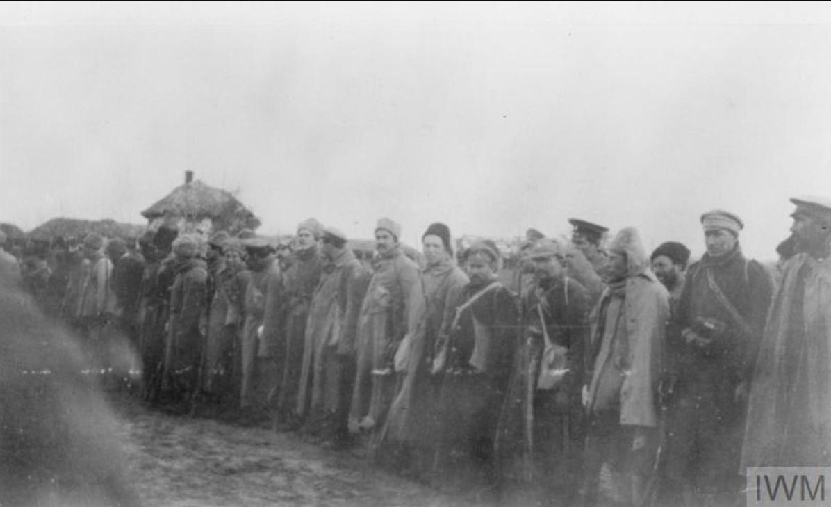 Пешие казаки 3-й взводной бригады 6-й дивизии I Донского корпуса