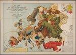 Рыбалка в неспокойных водах. На этой классической карте показана политическая неразбериха в Европе в преддверии двадцатого века 1899.