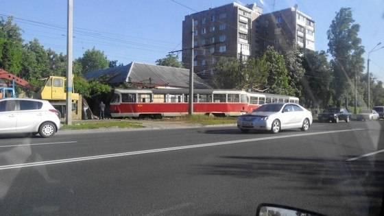 В жилом секторе Харькова произошел крупный пожар