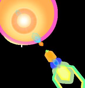 солнечные отблески