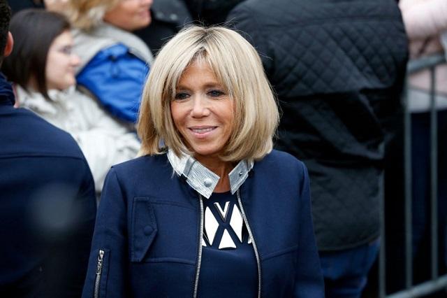 Супруга президента Франции пошла работать впредставительство республики