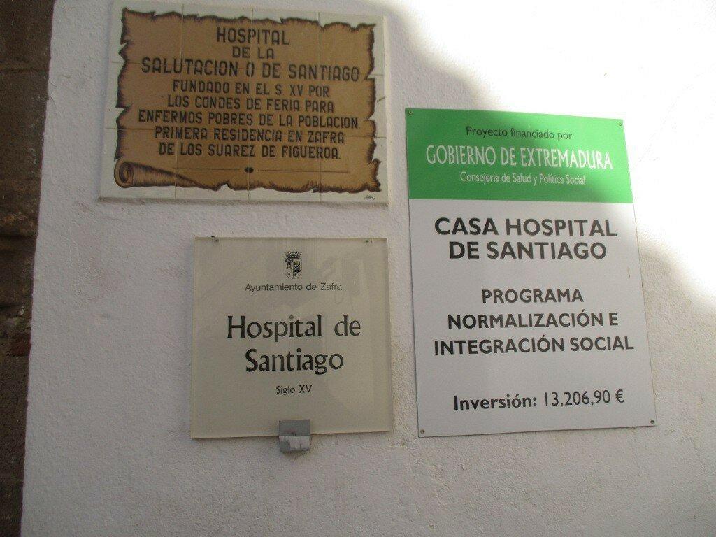 Hospital de Santiago, Zafra