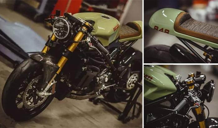 Стильный байк Ducati, в котором соединились лучшие современные технологии кастомайзинга Кастом-байки