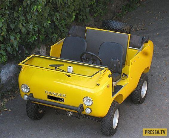 А у Ferves Ranger эта проблема встала в полный рост. Вероятно надо было взять двигатель от Fiat 600.