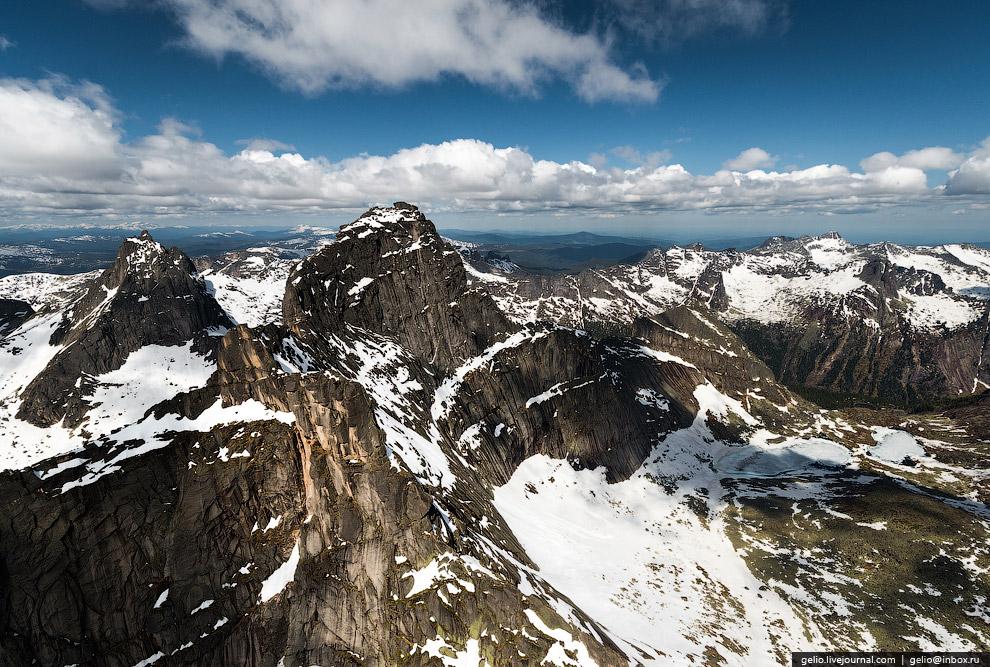 3. Пик Звёздный — Высшая точка района, 2265 м над уровнем моря: