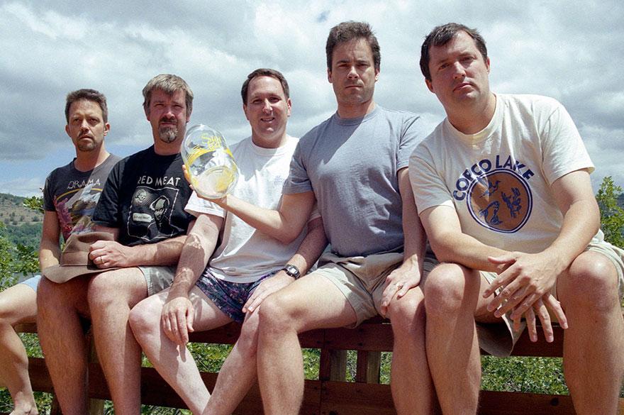 «В 2002 году мы старались копировать как можно лучше, хотя Джон забыл очки и все смеялись над огромн